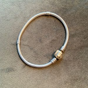Pandora Gold Latch Bracelet